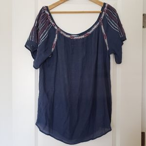Macy's off-the-shoulder top. Size XL